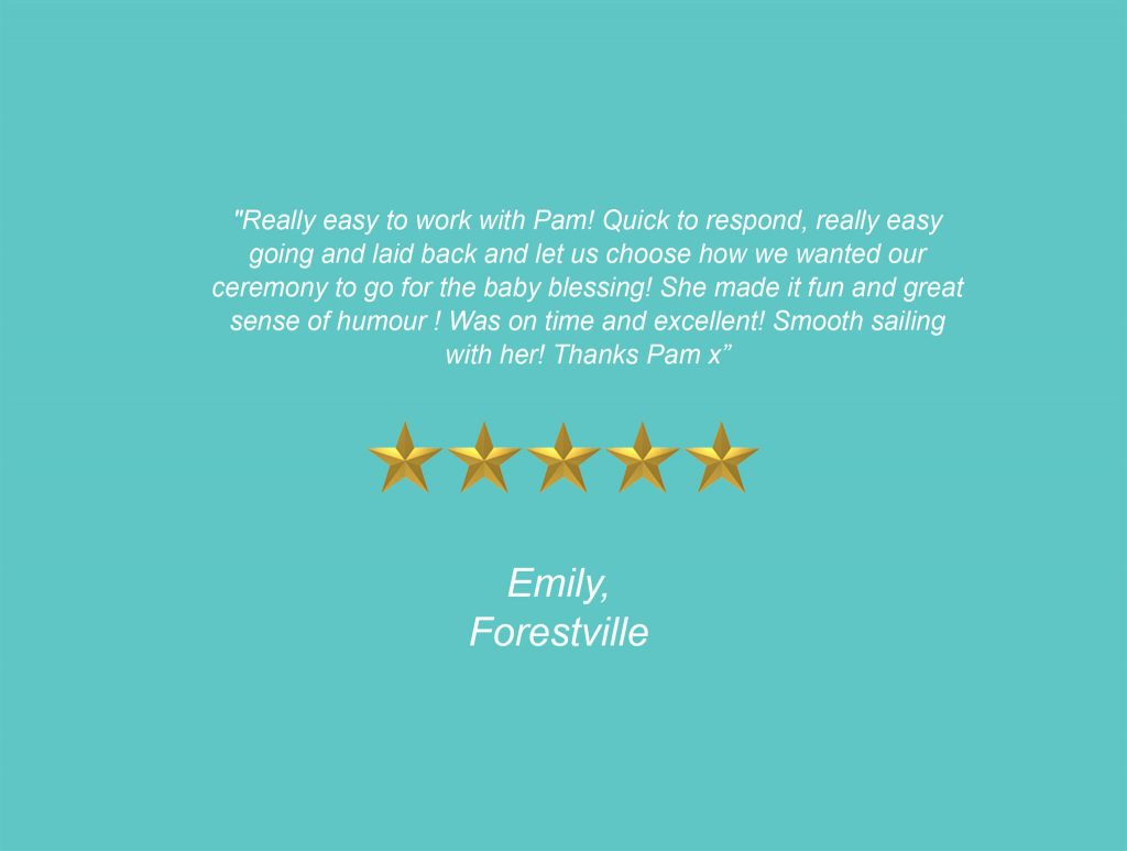 Your Unique Occasion Testimonial - Forestville