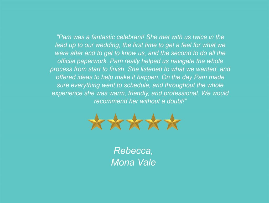 Your Unique Occasion Testimonial - Mona Vale