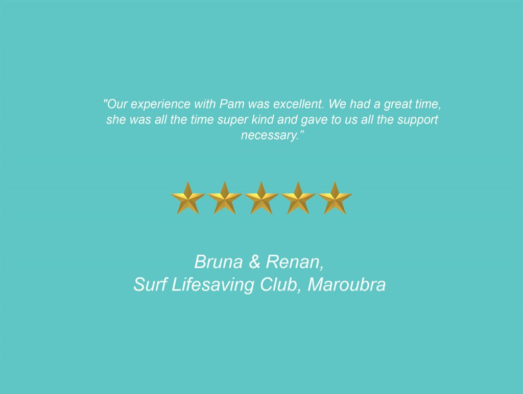 Your Unique Occasion Testimonial - Surf Lifesaving Club Maroubra